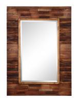 Cooper Classics Blakely Natural Wood Rectangular Mirror