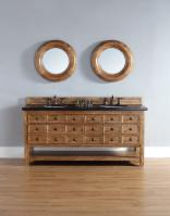 72 Inch Double Sink Bathroom Vanity with Multiple Top Choices