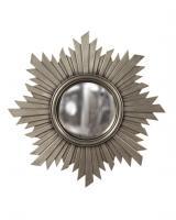 Howard Elliott Euphoria Unique Brushed Aged Nickel with Gold Mirror
