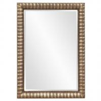 Moore Rectangular Antique Mottled Silver Mirror