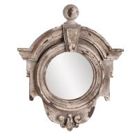 Winthrop Rustic Stone Rectangular Mirror