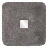 Medium Khari Textured Stone Square Mirror