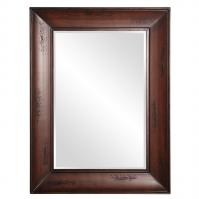 Bergman Distressed Wood Tones Rectangular Mirror