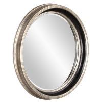 Cole Round Silver Leaf Mirror