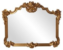 Avondale Unique Antique Gold Leaf Mirror