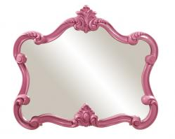 Veruca Unique Glossy Hot Pink Mirror