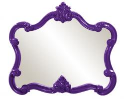 Veruca Unique Glossy Purple Mirror