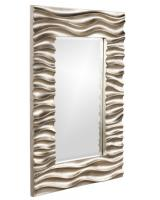 Zenith Rectangular Faux Wood Grain Mirror
