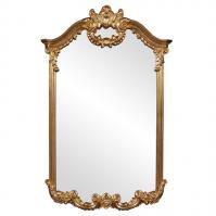 Roman Antique Gold Arch Mirror