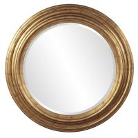 Ryder Country Gold Round Mirror