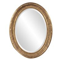 Nero Country Gold Oval Mirror