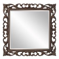 Cheltenham Rust Brown Square Mirror
