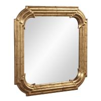 Hannah Country Gold Square Mirror