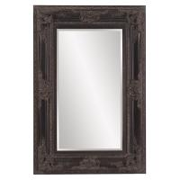 Victoria Antique Black Rectangular Mirror
