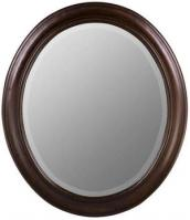 Chelsea Oval Tobacco Mirror