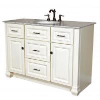 Bellaterra Home 50 Inch Single Sink Bath Vanity