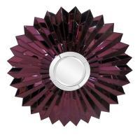 Wilmette Amethyst Sunburst Mirror