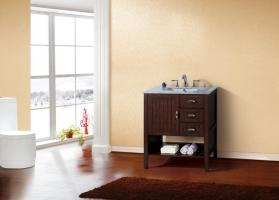 29.2 Inch Single Sink Bathroom Vanity with Choice of No Top