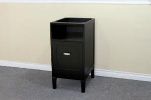 Espresso Extra Drawer Side Cabinet