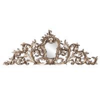 Baroque Silver Wall Art Ornate Mirror