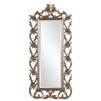 Anton Baroque Silver Leaf Mirror