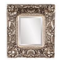 Horace Antique Silver Leaf Rectangular Mirror