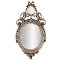 Pomeroy Antique Silver Oval Mirror