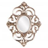 Antoinette Champagne Oval Mirror