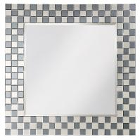 Michael Square Checkerboard Mirror