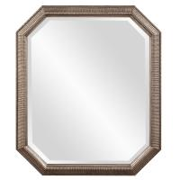 Virginia Octagonal Silver Leaf Mirror