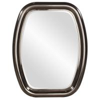 Vermont Bright Nickel Mirror