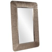 Nevada Oversized Silver Leaf Mirror
