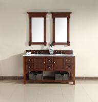60 Inch Double Sink Bathroom Vanity with Soft Close Hinges