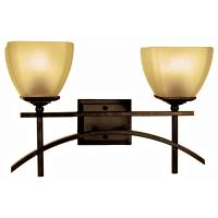 2 Light Vanity Lighting in Venetian Bronze