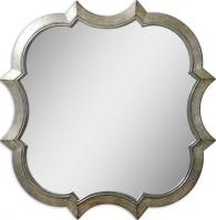 Farista Unique Antiqued Silver Mirror