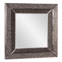 Jansen Gray Square Mirror