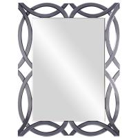 Kasha Ice Blue Ornate Mirror