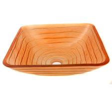 Square Glass Vessel Sink 86G