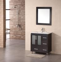 Design Element Co. 30 Inch Single Sink Bathroom Vanity