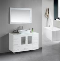 48 Inch Single Sink Bathroom Vanity with Lots of Drawers