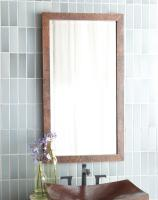 Antique Copper Rectangular Mirror
