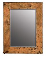 Tempered Copper Rectangular Mirror