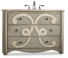 48 Inch Single Sink Bathroom Vanity in Sage