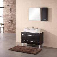36 Inch Modern Single Sink Bathroom Vanity in Espresso