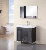 bathroom vanities 36 inch. 36 Inch Modern Single Sink Bathroom Vanity With White Counter Top Vanities