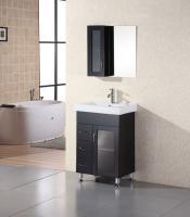 24 Inch Modern Single Sink Bathroom Vanity With Ceramic