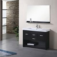 47.5 Inch Single Sink Bathroom Vanity with Soft Closing Hinges