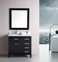 36 Inch Single Sink Bathroom Vanity in Espresso