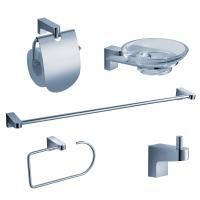 Generoso 5-Piece Bathroom Accessory Set in Chrome