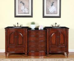 Large Double Bathroom Vanities shop large double bath sink vanities 73 – 95 inches with free